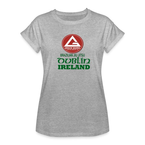 Gracie Barra Dublin Gaelic Celtic Font PNG - Women's Oversize T-Shirt