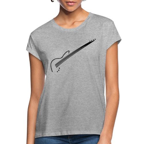 E-Bass - Frauen Oversize T-Shirt