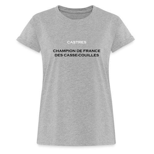 design castres - T-shirt oversize Femme