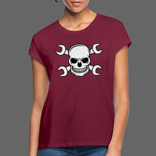 MEKKER SKULL - Dame oversize T-shirt