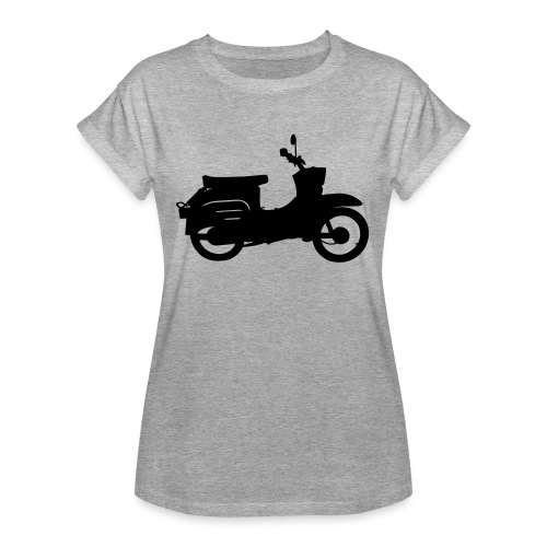 Schwalbe Silhouette - Frauen Oversize T-Shirt