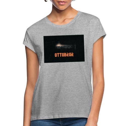 svart granit polerad - Oversize-T-shirt dam