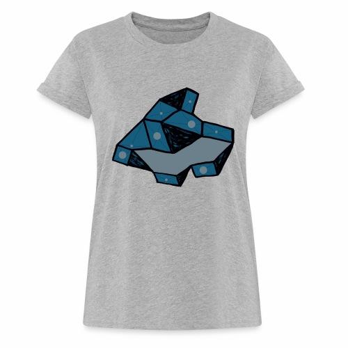 dot rock - Vrouwen oversize T-shirt