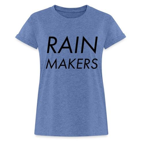 rainmakertext - Naisten oversized-t-paita