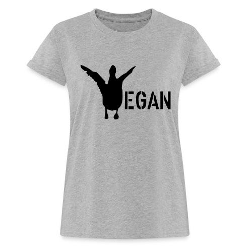 venteklein - Frauen Oversize T-Shirt