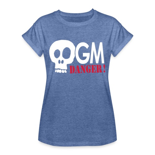 OGM danger ! - T-shirt oversize Femme