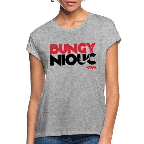BungyNiouc Logo - T-shirt oversize Femme
