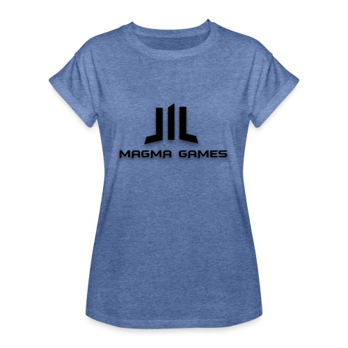 Magma Games muismatje - Vrouwen oversize T-shirt