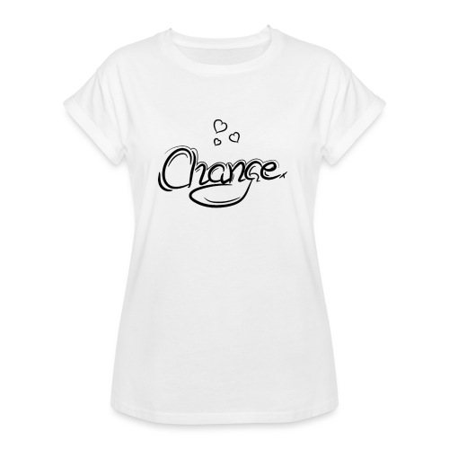Änderung der Merch - Frauen Oversize T-Shirt