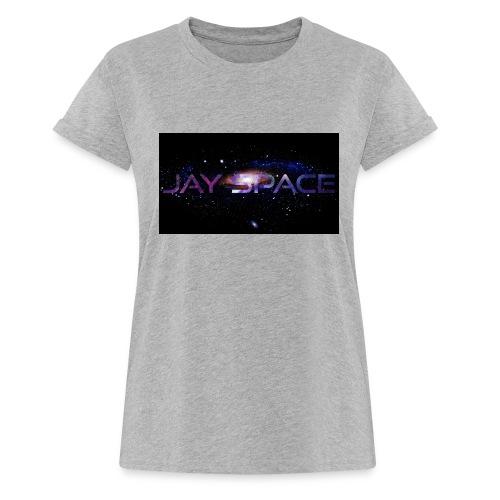 Jay Space - Naisten oversized-t-paita