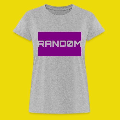 Random Logo - Women's Oversize T-Shirt