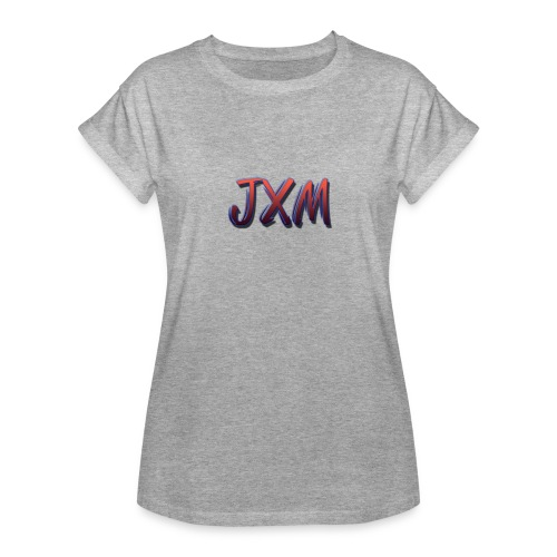 JXM Logo - Women's Oversize T-Shirt