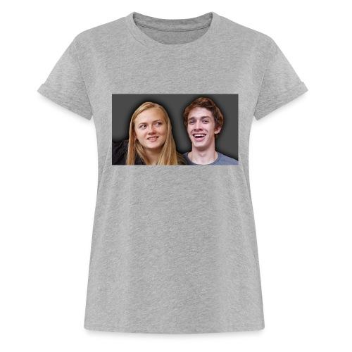 Profil billede beska ret - Dame oversize T-shirt
