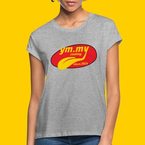 YM.MY clothing LOGO - Women's Oversize T-Shirt
