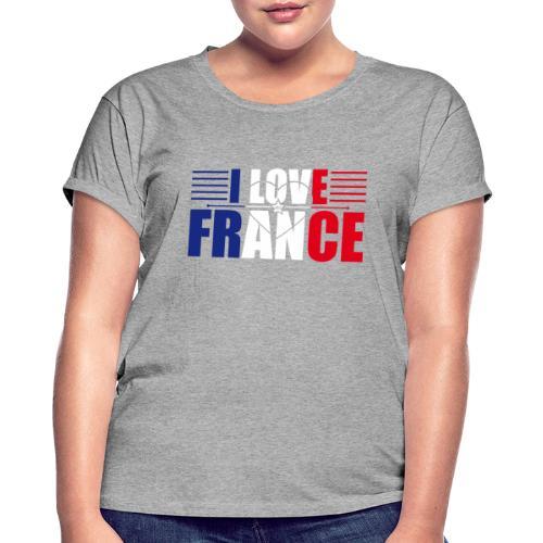 love france - T-shirt oversize Femme