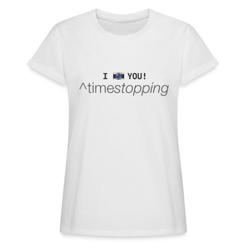 I (photo) you! - Women's Oversize T-Shirt