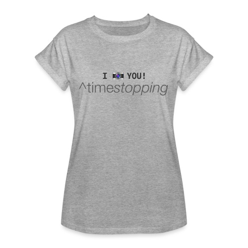 I (photo) you! - Women's Oversize T-Shirt