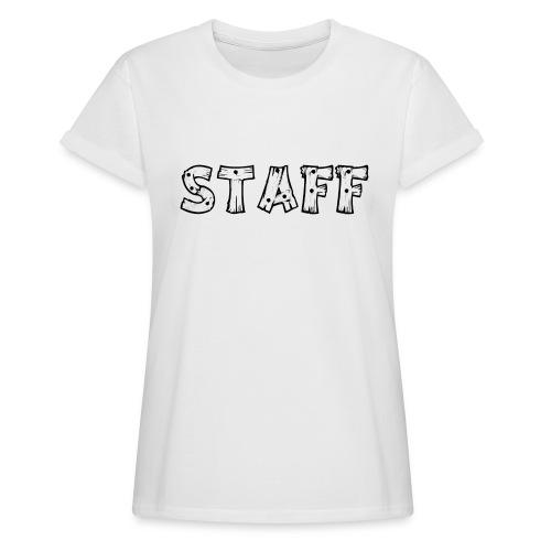 STAFF - Maglietta ampia da donna