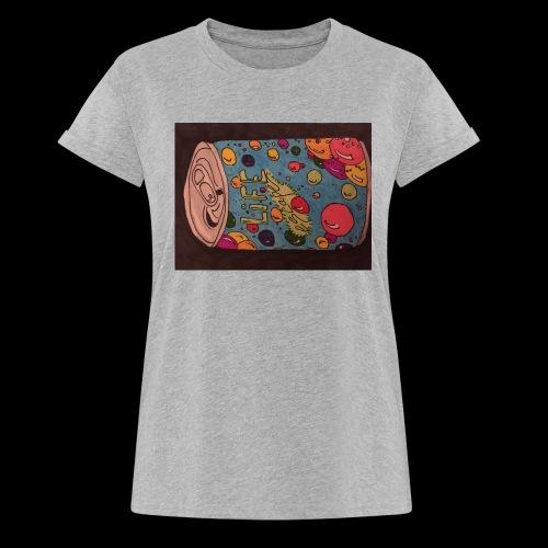 7AABC614 53CA 4156 B765 D9FBF5B8E496 - Dame oversize T-shirt
