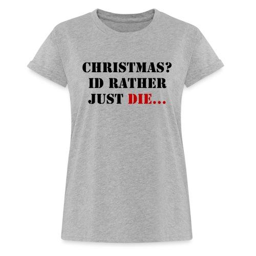 Christmas joy - Women's Oversize T-Shirt