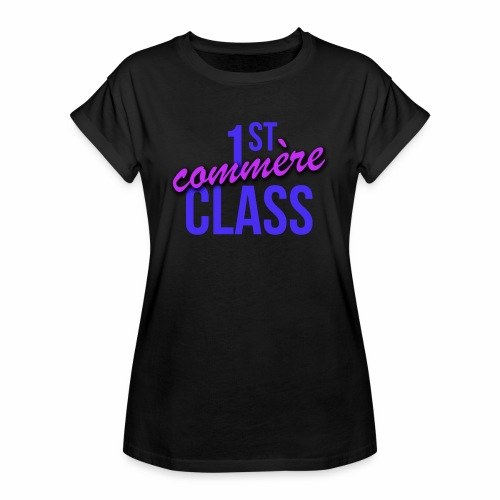 First Commère Class - T-shirt oversize Femme