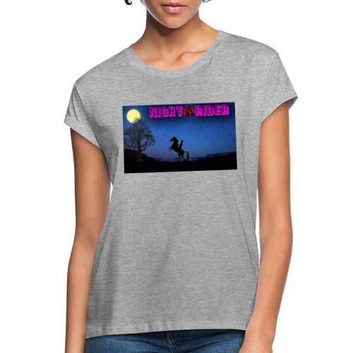 nightrider merch - Dame oversize T-shirt