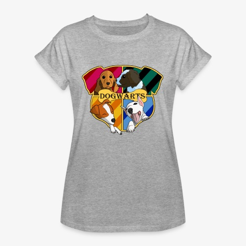 Dogwarts Logo - Women's Oversize T-Shirt