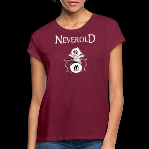LOGO NEVEROLD - T-shirt oversize Femme