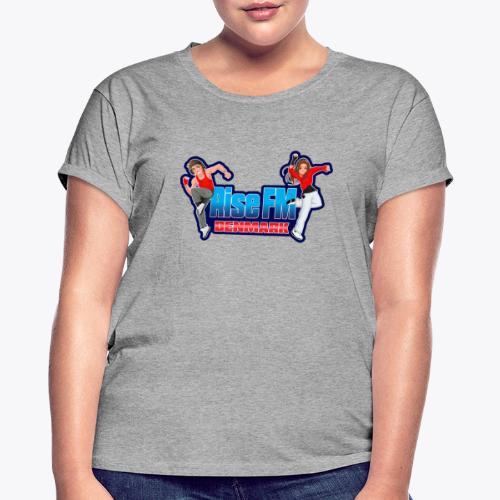 Rise FM Denmark Full Logo - Dame oversize T-shirt