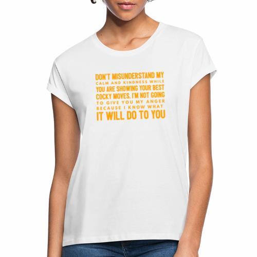 confidence - Dame oversize T-shirt