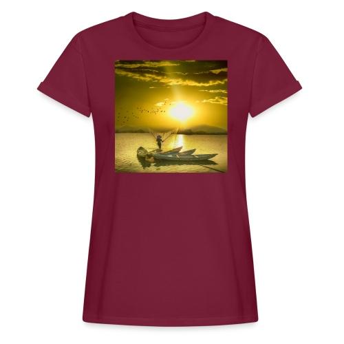 Tramonto - Maglietta ampia da donna