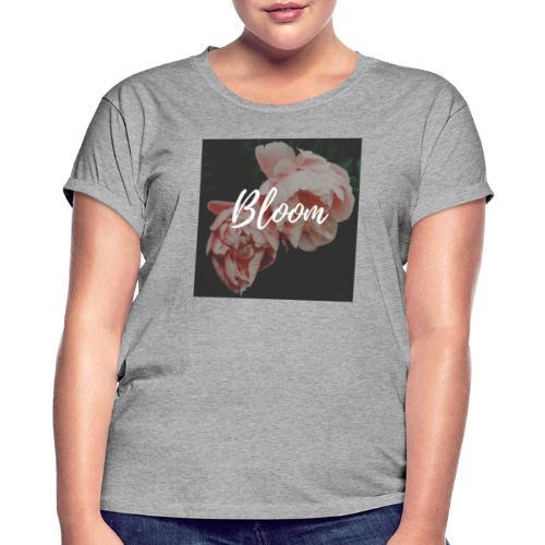 Tee-shirt rose - T-shirt oversize Femme