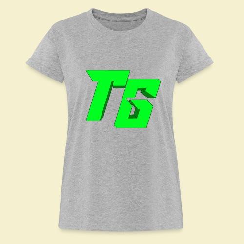 TristanGames logo merchandise [GROOT LOGO] - Vrouwen oversize T-shirt