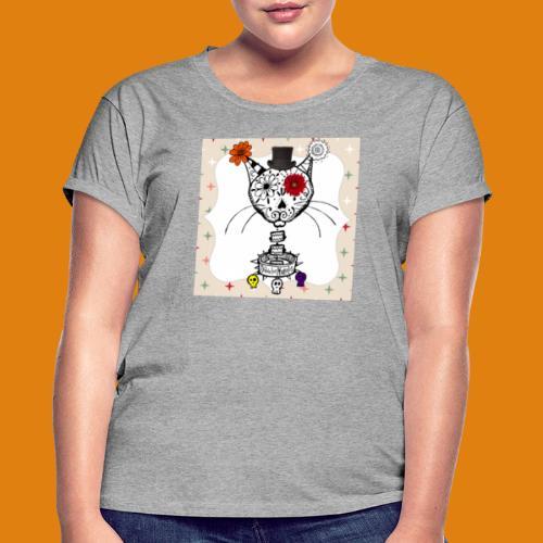 cat color - Women's Oversize T-Shirt