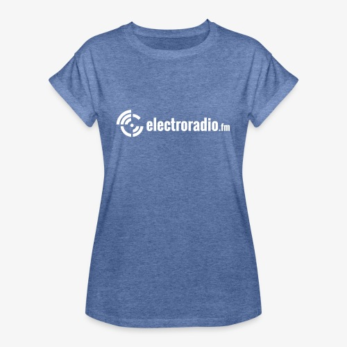 electroradio.fm - Frauen Oversize T-Shirt