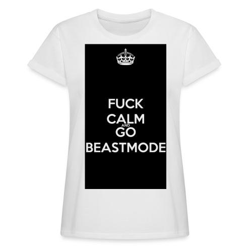 Go Beast-Mode - Women's Oversize T-Shirt
