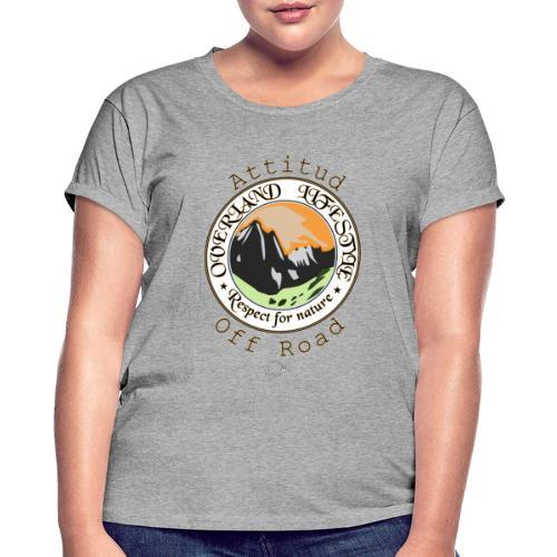 24 Overland LifeStyle - Camiseta holgada de mujer