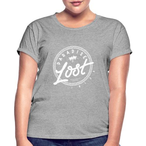 Paradise Lost Ibiza - White Logo - Women's Oversize T-Shirt