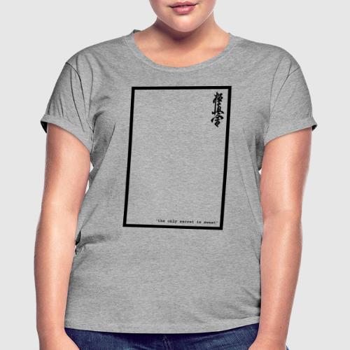 performance tshirt - Vrouwen oversize T-shirt