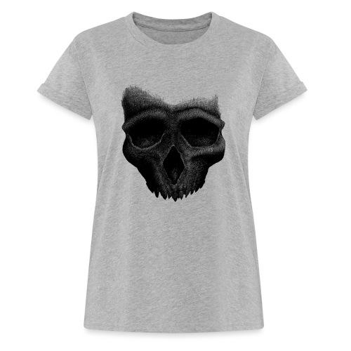 Simple Skull - T-shirt oversize Femme