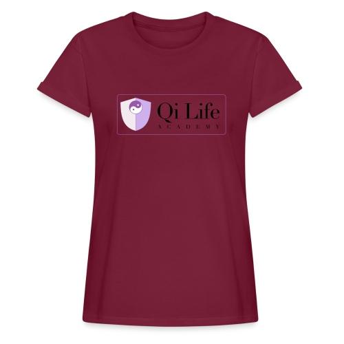 Qi Life Academy Promo Gear - Women's Oversize T-Shirt