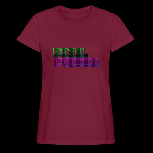 Pixel Poison Logo - Women's Oversize T-Shirt