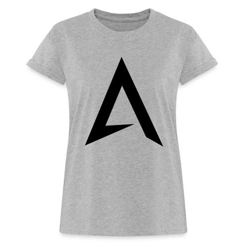 alpharock A logo - Women's Oversize T-Shirt