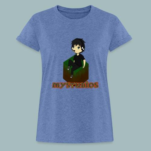 Mystudios Stylo - Frauen Oversize T-Shirt