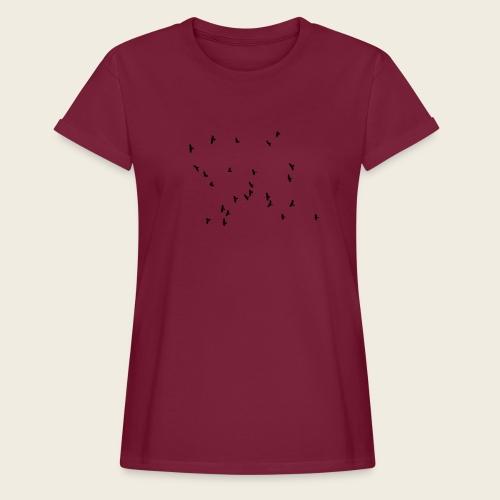 Flying birds - Dame oversize T-shirt