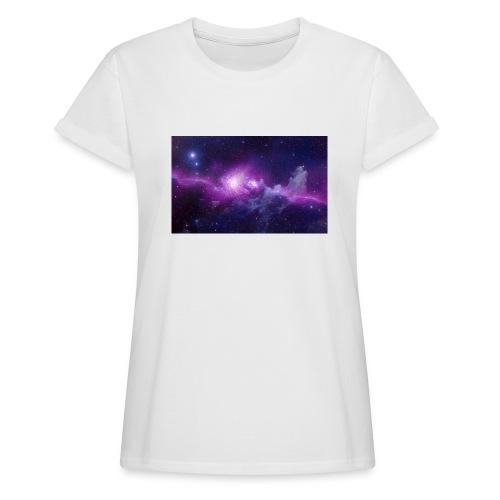 tshirt galaxy - T-shirt oversize Femme
