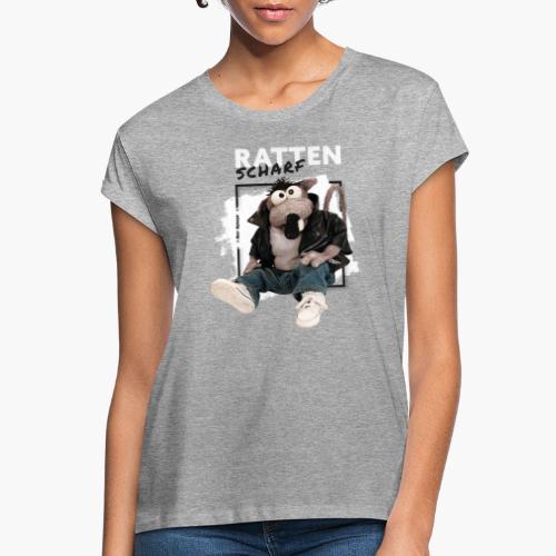 Rolf Rüdiger Rattenscharf - Frauen Oversize T-Shirt