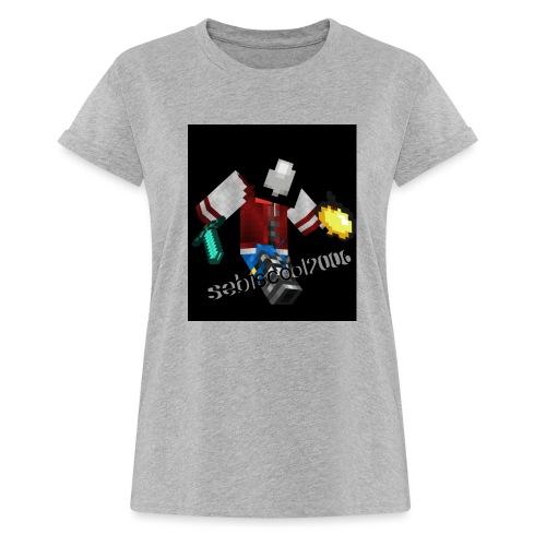 Sebastian yt - Dame oversize T-shirt