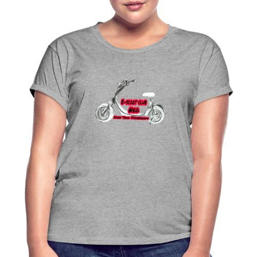 Neorider Scooter Club - T-shirt oversize Femme