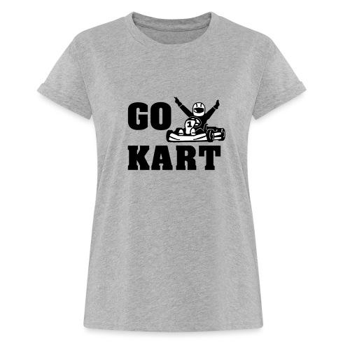 Go kart - T-shirt oversize Femme